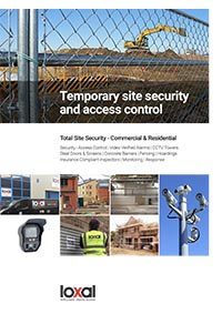 Loxal Construction Site Security Brochure