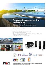 Loxal Remote Site Security Brochure
