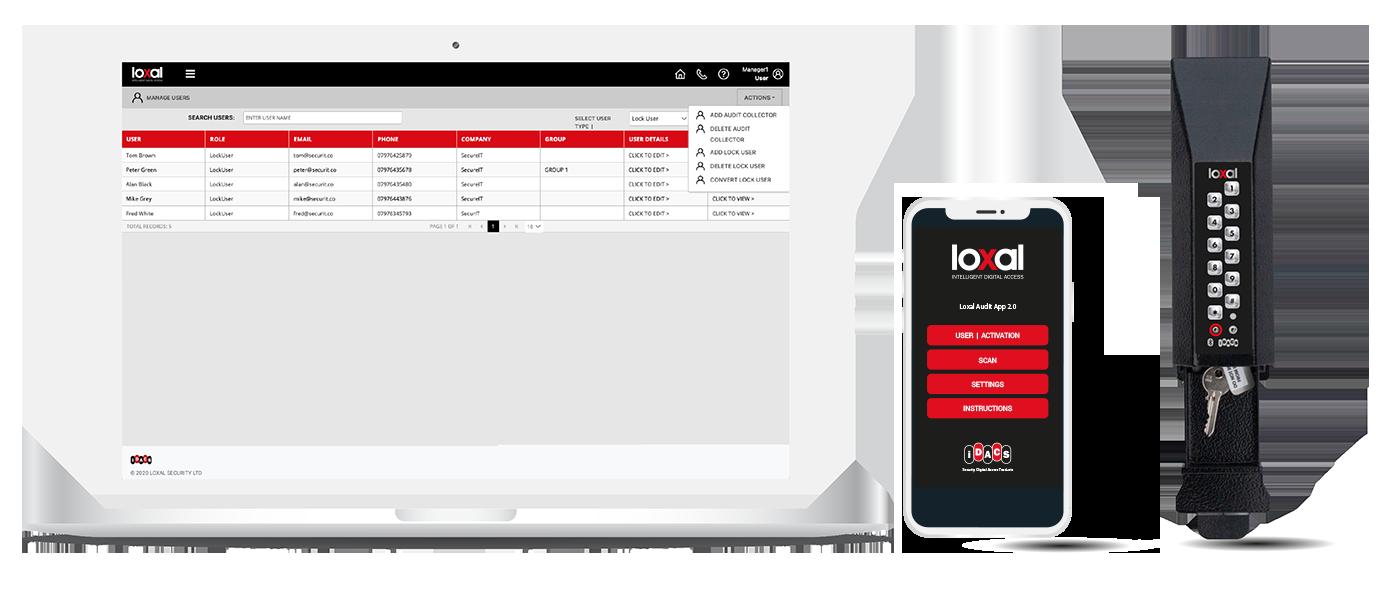 IDACS Management Portal & Key Safe